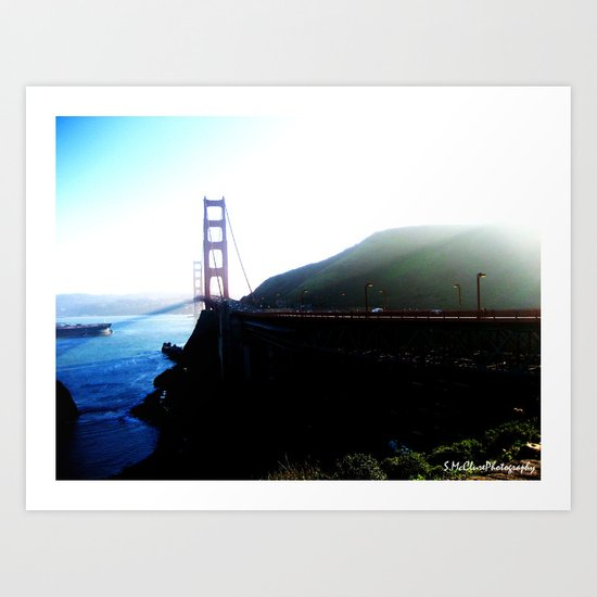 San Francisco. Art Print