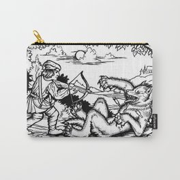 Werewolf Hunting medieval style Carry-All Pouch