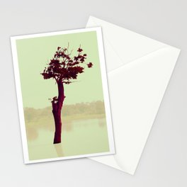Power Tree Green Stationery Cards