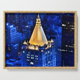 New York Life Building Serving Tray