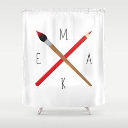 MAKE Shower Curtain