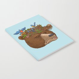 Mr Bear's Nature Hat 2017 Notebook