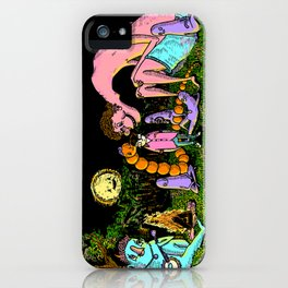 Camp out iPhone Case