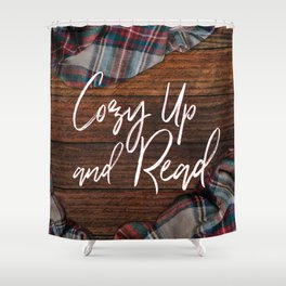 Cozy Up and Read Shower Curtain