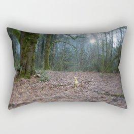 The World She Lives In Rectangular Pillow