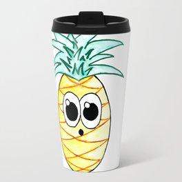 The Suprised Pineapple Travel Mug