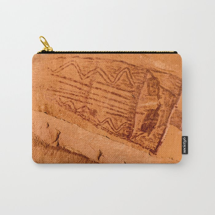 Great Gallery Pictograph Close-up Canyonlands National Park - Utah Carry-All Pouch