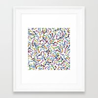 shoes Framed Art Prints featuring Shoes by Project M