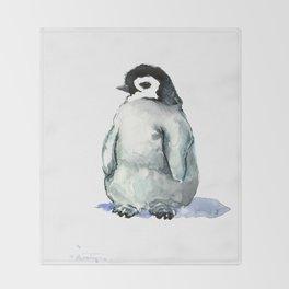 Baby Penguin Throw Blanket