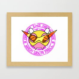 Mega Dunsparce [Shiny] Framed Art Print