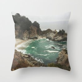 Big Sur - Julia Pfeiffer Throw Pillow