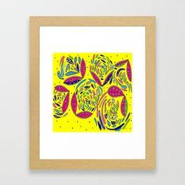 Birthday Pop Framed Art Print