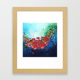 Lifting Framed Art Print