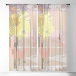 Jawbreaker Tsunami Sheer Curtain