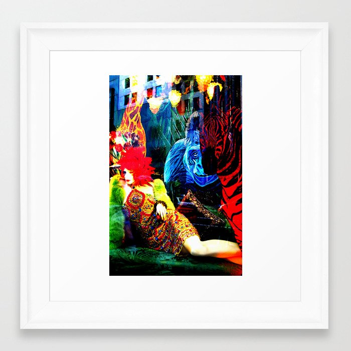 Ladies 3 Framed Art Print
