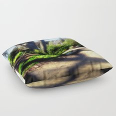 A walk in the Park Floor Pillow