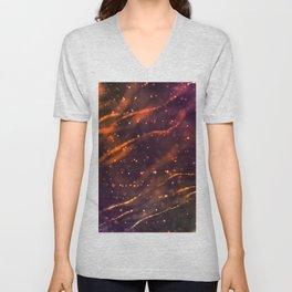 Holiday abstract Unisex V-Neck