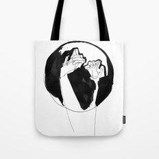 moonlight hands Tote Bag