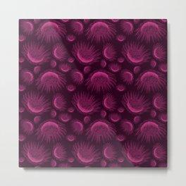 Fuchsia and wine waratah - Australian wild flower Metal Print