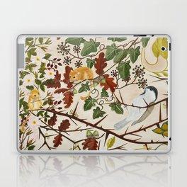 Marsh Tit and Field Mice Laptop & iPad Skin