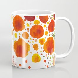 Paths of Color [Red, Orange and Green] Coffee Mug