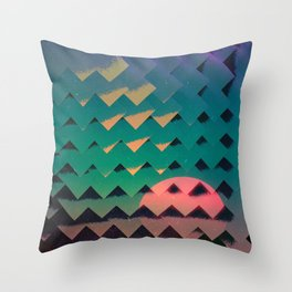 Stagecraft Throw Pillow