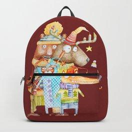 Christmas Animals Backpack