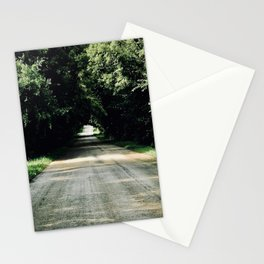 Lost in a Beautiful Green Tunnel Stationery Cards