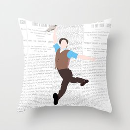 NEWSIES – LOGO Throw Pillow