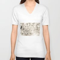 cherry blossoms V-neck T-shirts featuring cherry blossoms by hannes cmarits (hannes61)