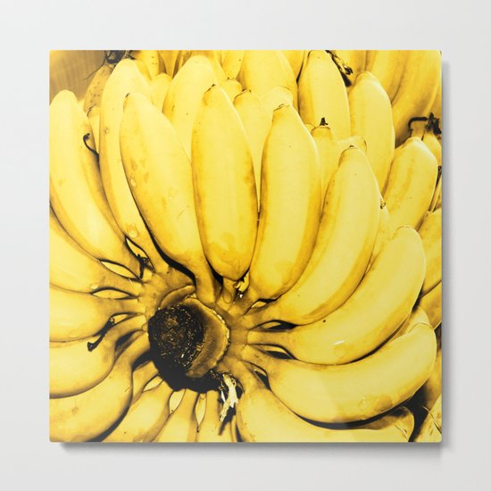 Yellow bananas Metal Print
