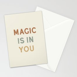 Magic is in You Stationery Cards