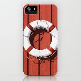 Life saver 2 iPhone Case