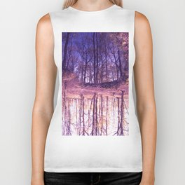 The Nature World up side down Biker Tank