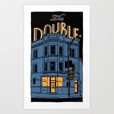 The Double Art Print
