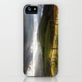 Keswick via Skiddaw iPhone Case