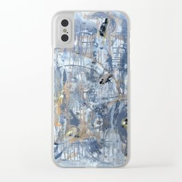 It's all about the Gray Clear iPhone Case
