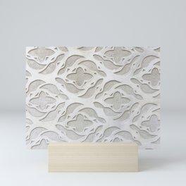 Stone flowers Mini Art Print