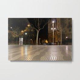 Barcelona - la ramblas Metal Print