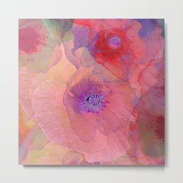 Floral Abstract 89 Metal Print