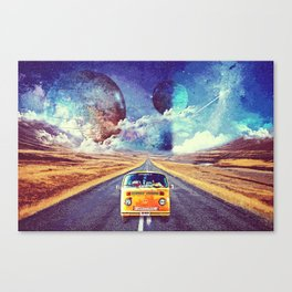 Globe trotter Canvas Print