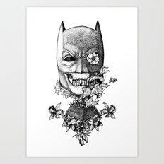 World Finest Series. The Bat.  Art Print