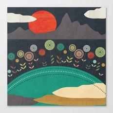 Nuclear Spring Canvas Print