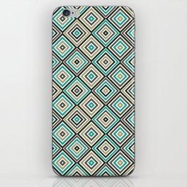 Seamless Monochrome Rhombus iPhone Skin