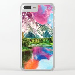 Wyoming Clear iPhone Case