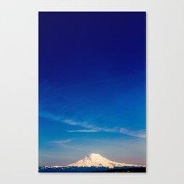 Mt. Rainier . ii Canvas Print