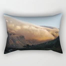 Crowned in clouds Rectangular Pillow