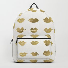 Kiss Collection – Gold Ink Backpack