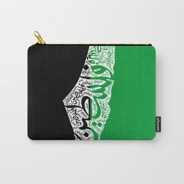 Palestine map Carry-All Pouch