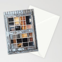 Wood in the Windows Stationery Cards